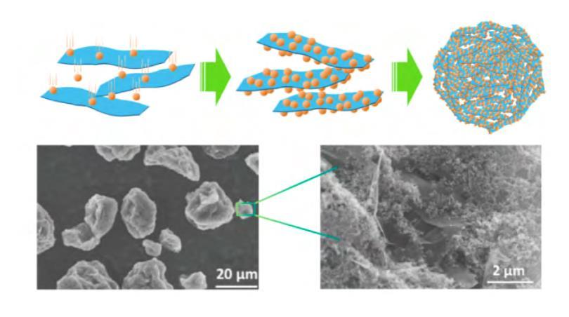 高导电性极易分散的石墨烯/碳黑复合导电剂粉体(石墨烯含量在50%以上